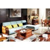维克阳光,伊索家具,北欧金丝檀木,实木沙发 606 605