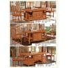 温氏(茶友轩)  古典实木茶桌椅  828 827 826