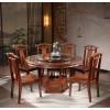 卓然家具 香樟木餐桌椅  实木餐桌椅